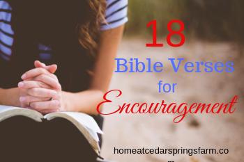 18 Bible Verses for Encouragement #bibleverses #encouragement #bibleversesforencouragement