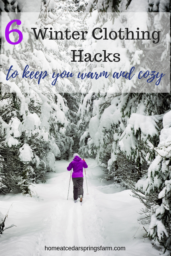 6 Winter Clothing Hacks #winterclothinghacks #winterhacks #warmandcozy