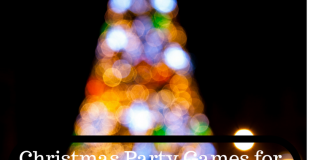 Christmas Party Games for Kids and Adults