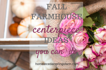 10 Farmhouse Style DIY Fall Centerpieces