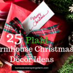 25 Plaid Farmhouse Christmas Decor Ideas