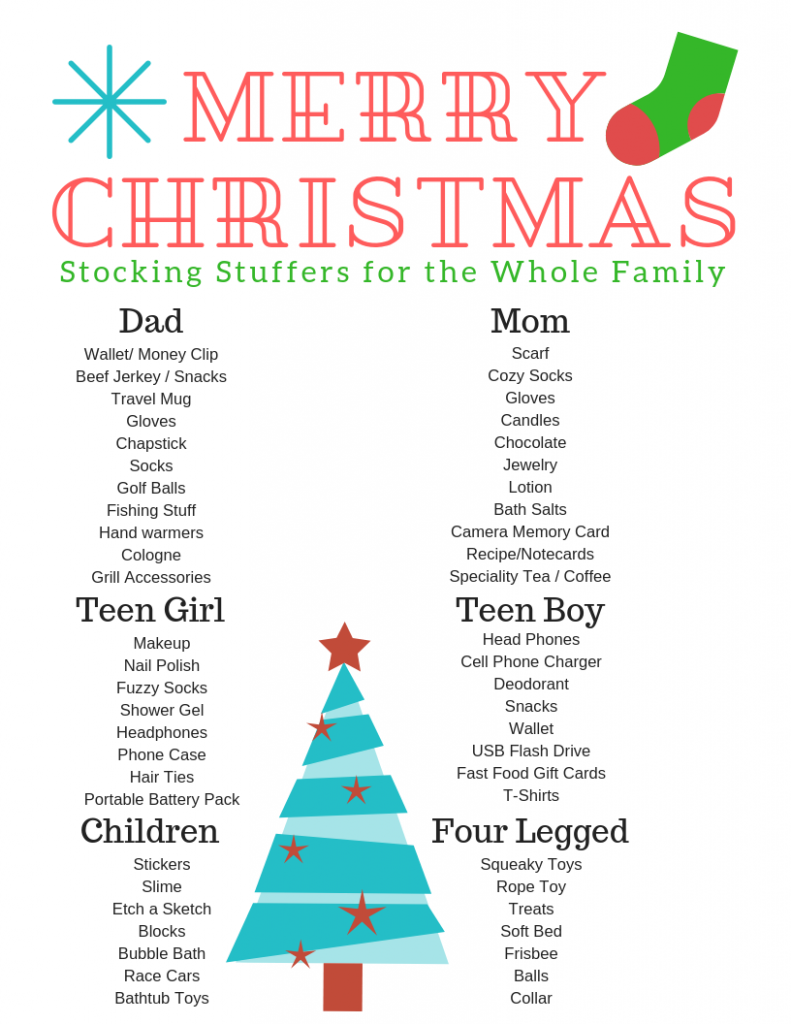 Stocking Stuffers for Everyone #stockingstuffers #christmasisalmosthere #fillthosestockings