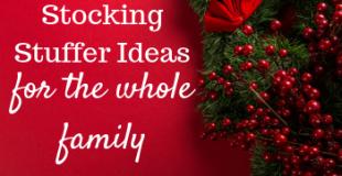 Stocking Stuffer Ideas #stockingstufferideas #stockingsarethebest #stockingsonchristmasmorning