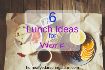 6 Lunch Ideas for Work