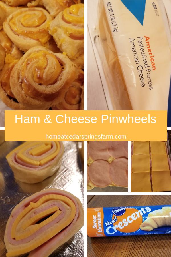 Ham & Cheese Pinwheels #easyappetizers #sweethawaiianhamandcheesepinwheels #hamandcheesepinwheels