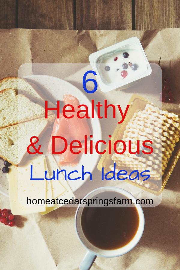 Healthy & Delicious Lunch Ideas #healthyanddeliciouslunchideas #lunchideasforwork #lunchforwork