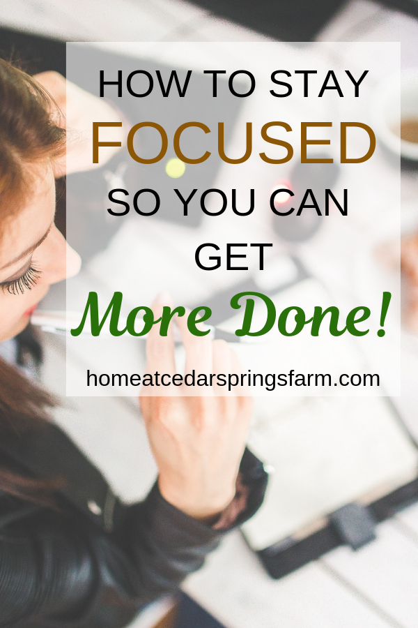 Need some tips on How To Stay Focused To Get More Done? These are some super awesome tips for you to start doing today.