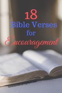18 Bible Verses for Encouragement #bibleverses #encouragement #encourageothers