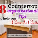 8 Countertop Organizational Tips To Help You Clear the Clutter