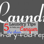 5 Laundry Tips To Help You Conquer The Chaos