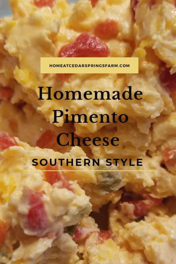 Southern Homemade Pimento Cheese