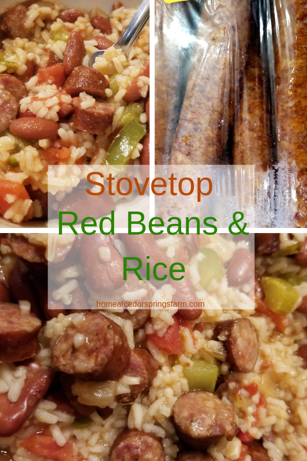 Stovetop Red Beans & Rice