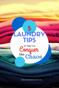 5 Laundry Tips #laundrytips #conquerthechaos #laundry