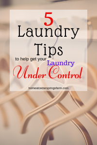 5 Laundry Tips #conquerthechaos #laundry #laundrytips