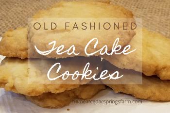 Tea Cake Cookies